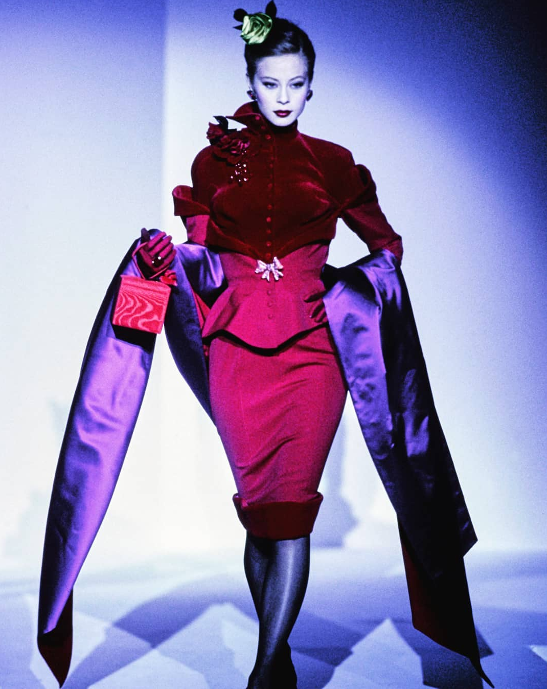 Mugler  fall winter 1995 couture
