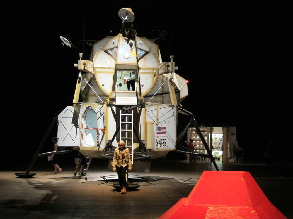 Tom Sachs, Space Program: Mars, at the Park Avenue Armory, 2012