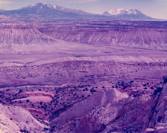 David benjamin sherry  violent deep data days turned to violet dust  escalante  utah  2015