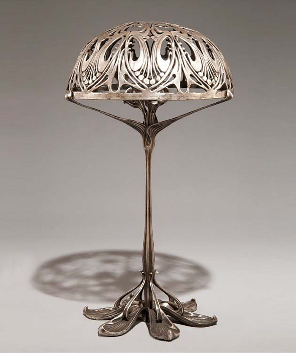 Paul follot  table lamp  1900