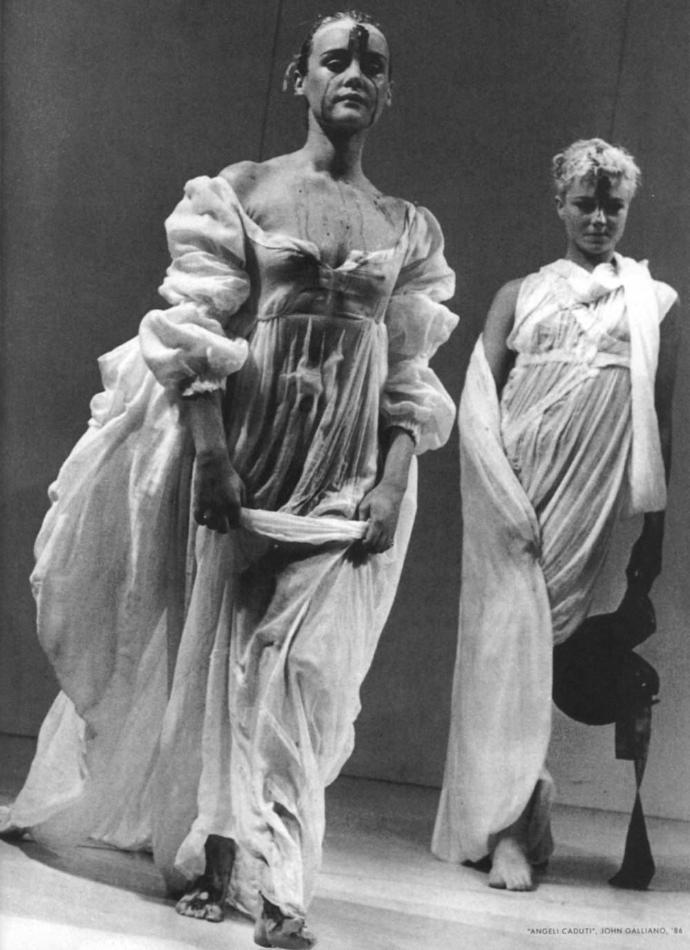 John Galliano, Spring/Summer 1986