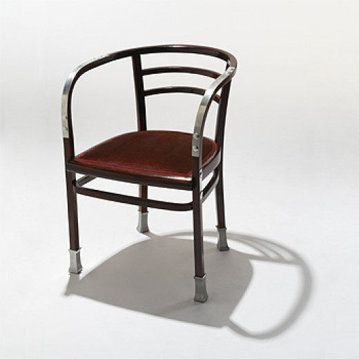 Armchair by otto wagner for the vienna postsparkasse  1906