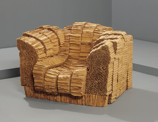 Frank Gehry, Grandpa Beaver Chair, Corrugated Cardboard, 1987