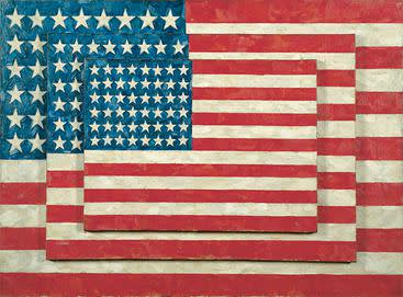 Jasper johns  three flags  1958