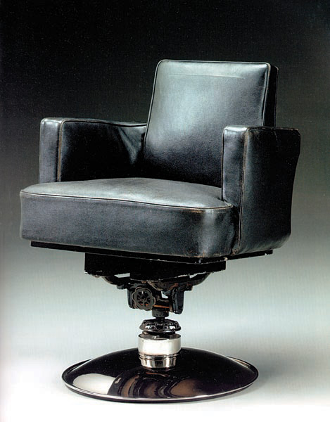 Ruhlmann tournant desk armchair