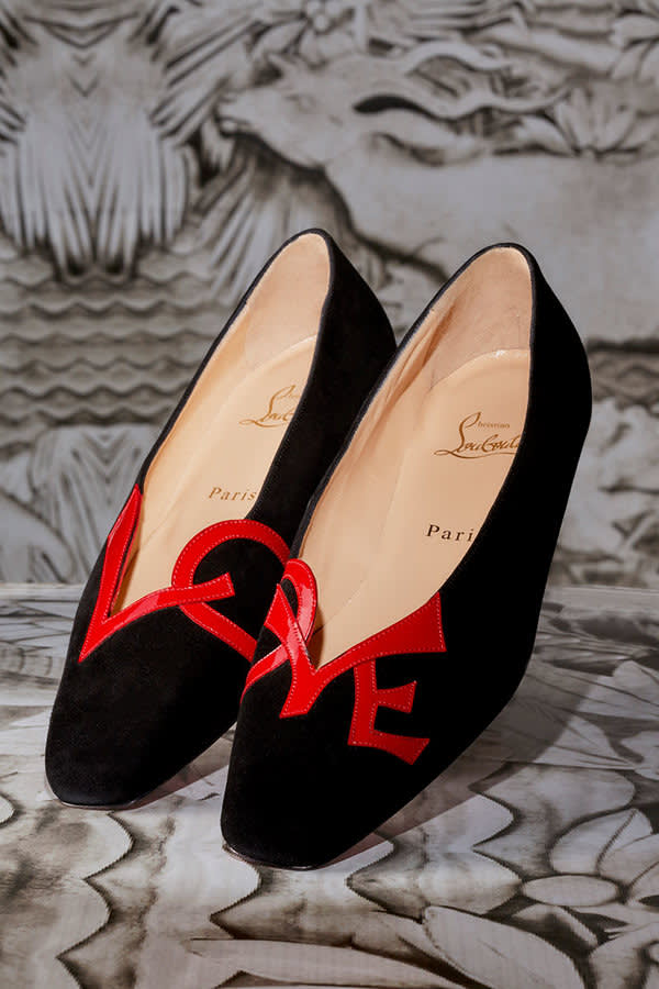 "Christian Louboutin, The ""Love"" Shoe, Photo by Jean-Vincent Simonet"