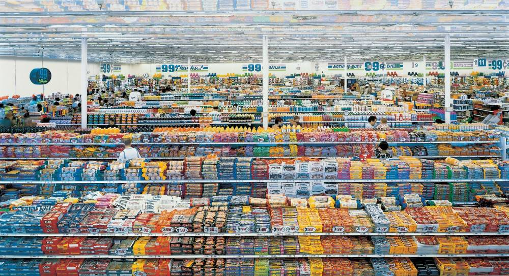 99 cent. andreas gursky  1999