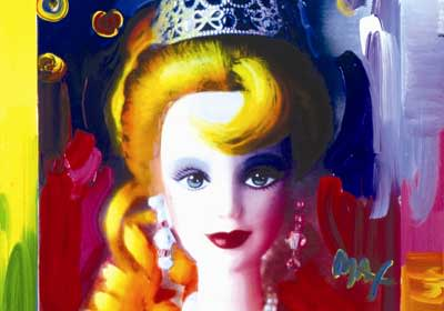 Peter Max , Futuristic Barbie, 1994