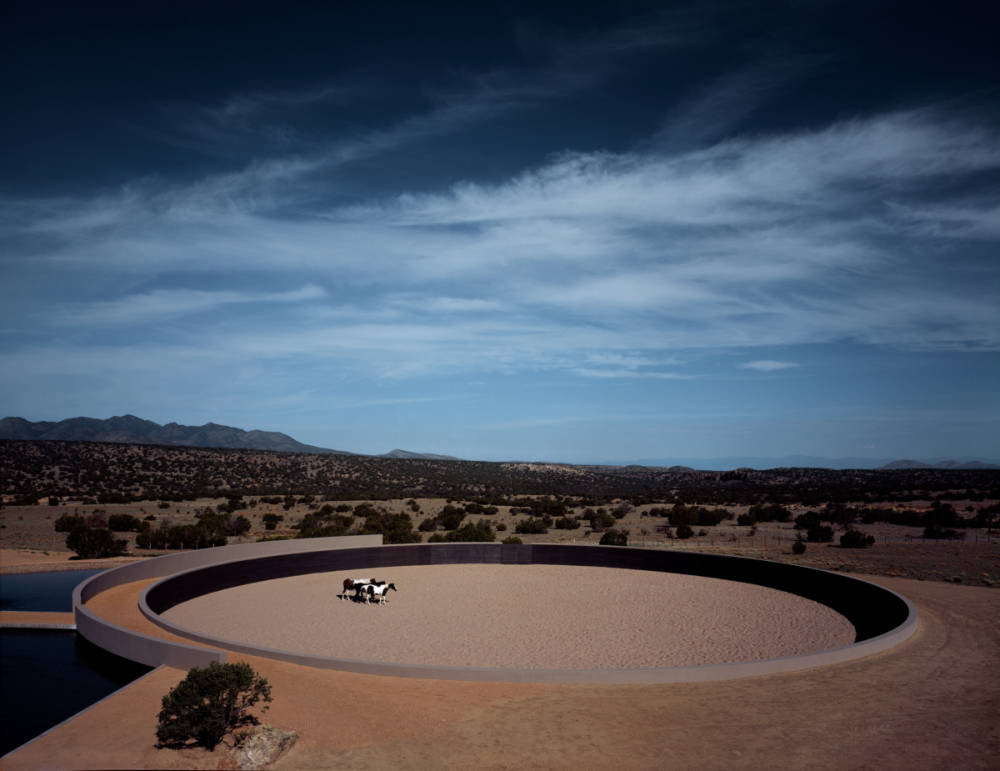 Tadao Ando, Cerro Pelon Ranch, Santa Fe, New Mexico