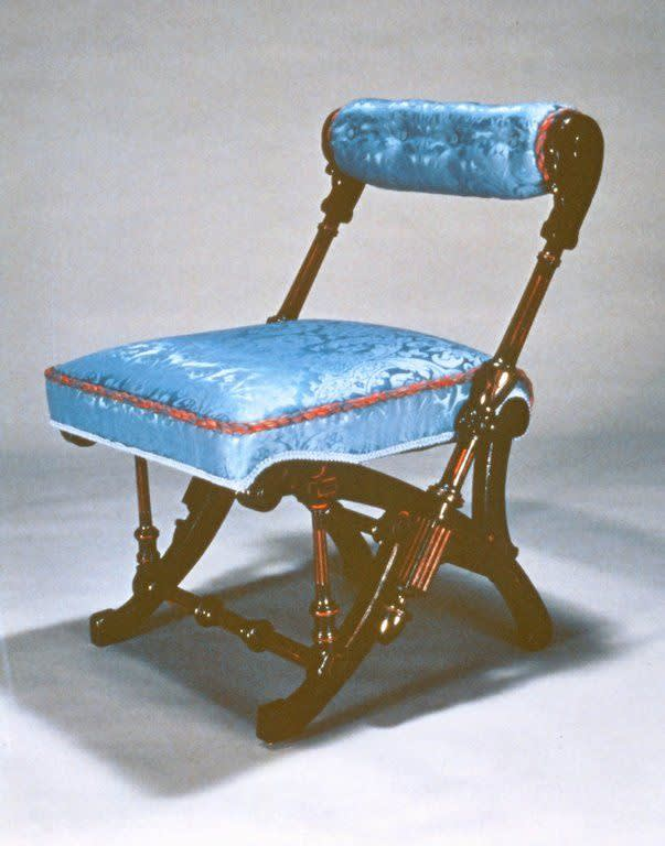 George jacob hunzinger  side chair  1860s