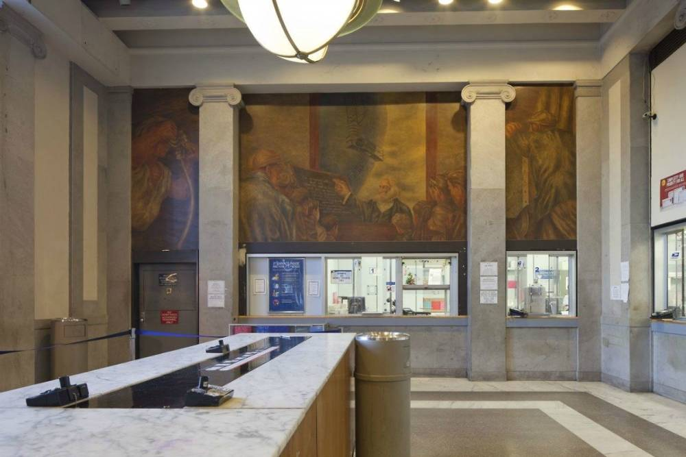 Bronx General Post Office, Interior Detail