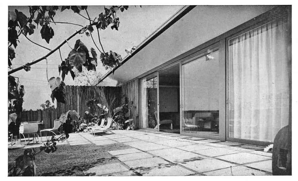 JR Davidson , Case Study House No. 1, 1948