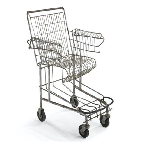 Tom sachs  shopping cart chair   1993