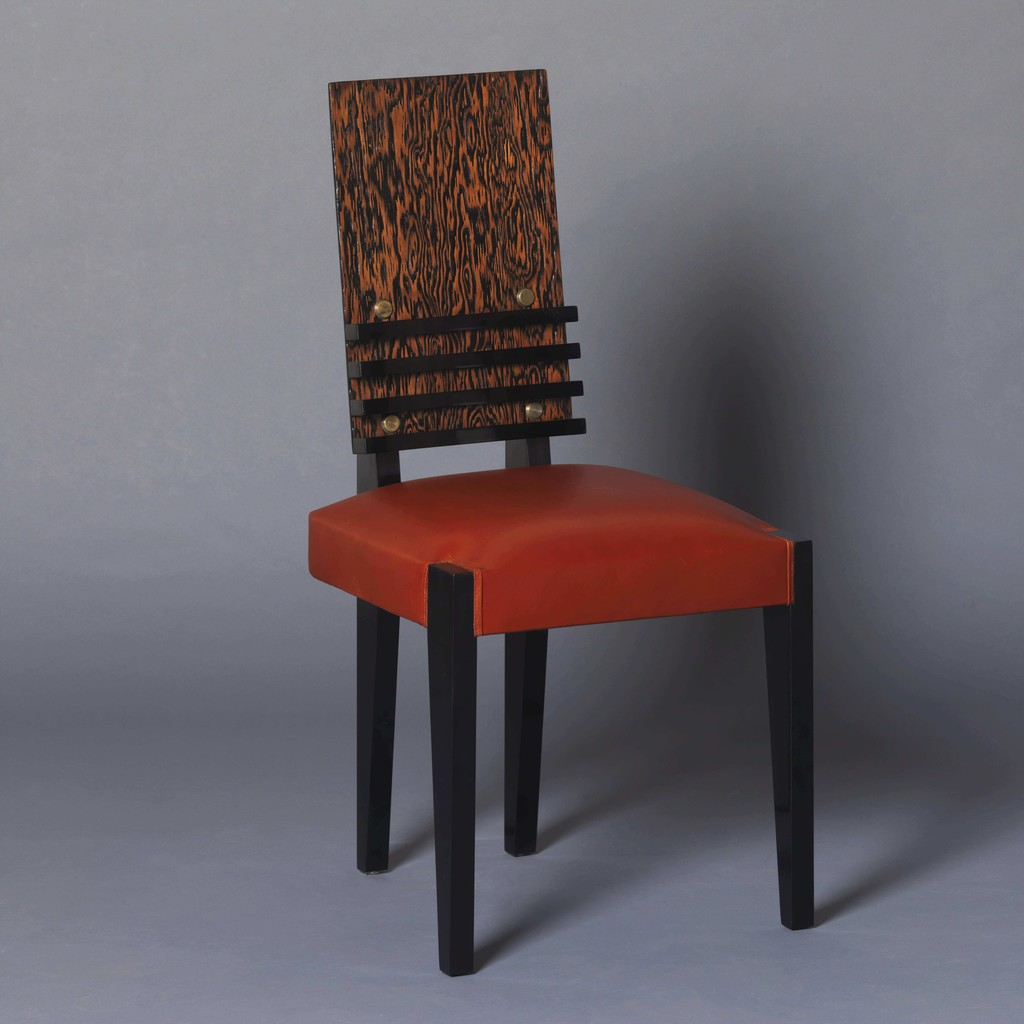 Andre sornay  six chairs  ca. 1935