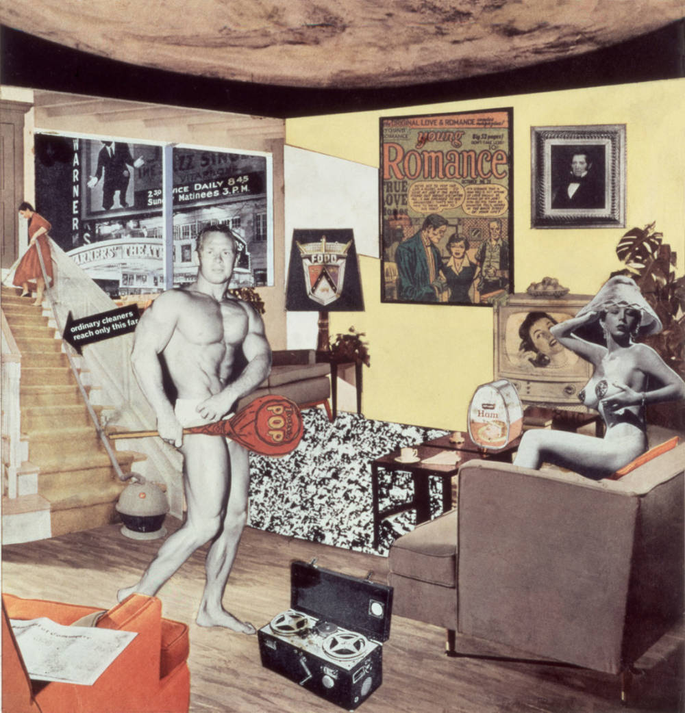 Richard hamilton  just what was it that made today   s homes so different  so appealing   1956
