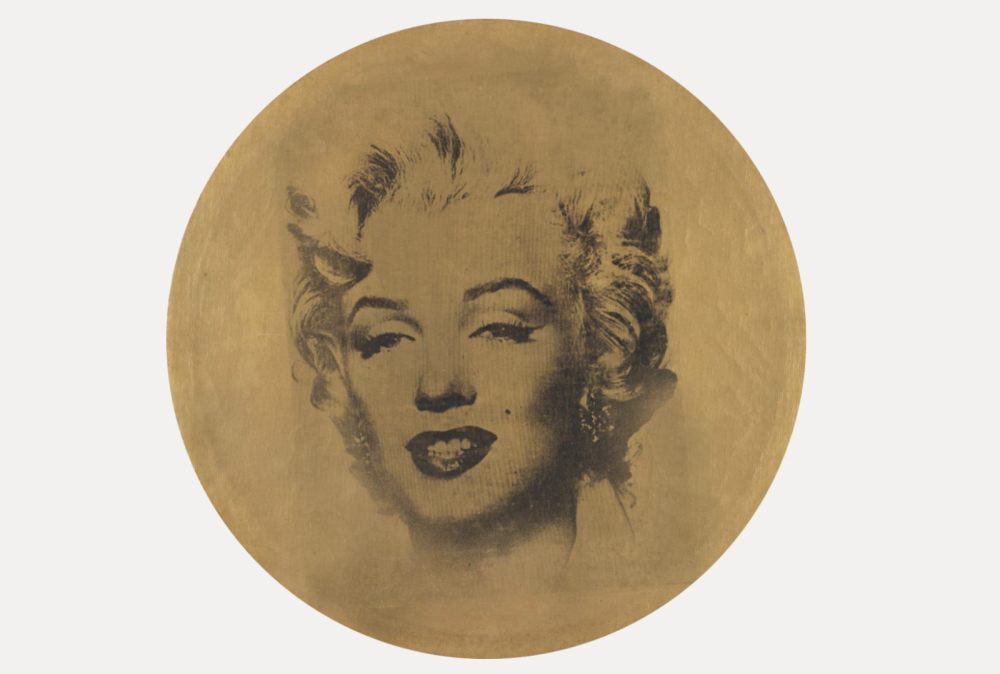 Andy Warhol, Round Marilyn, 1963