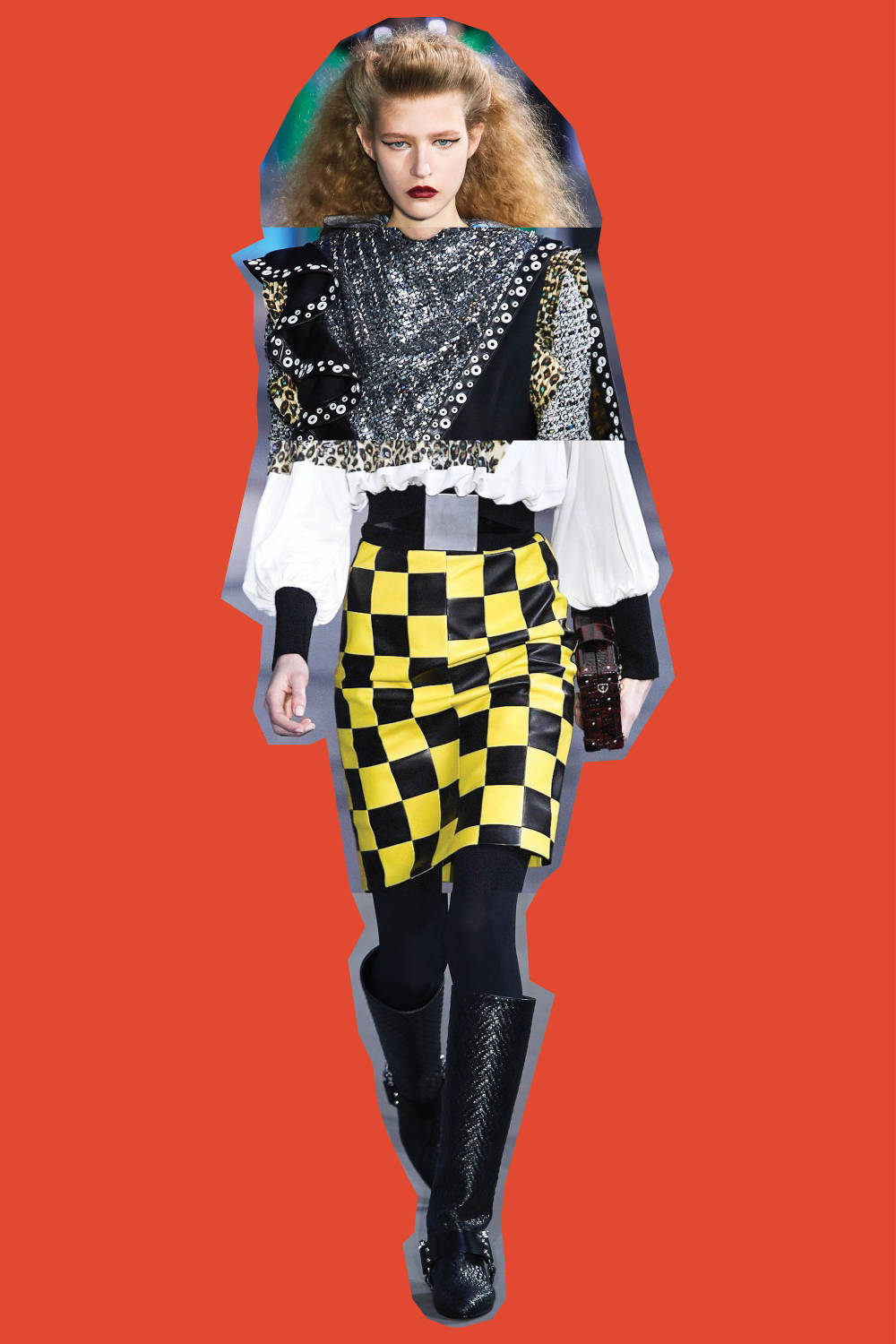 Louis Vuitton - Fall/Winter 2019, From Top: Look 6, Look 1, Look 18, Look 31