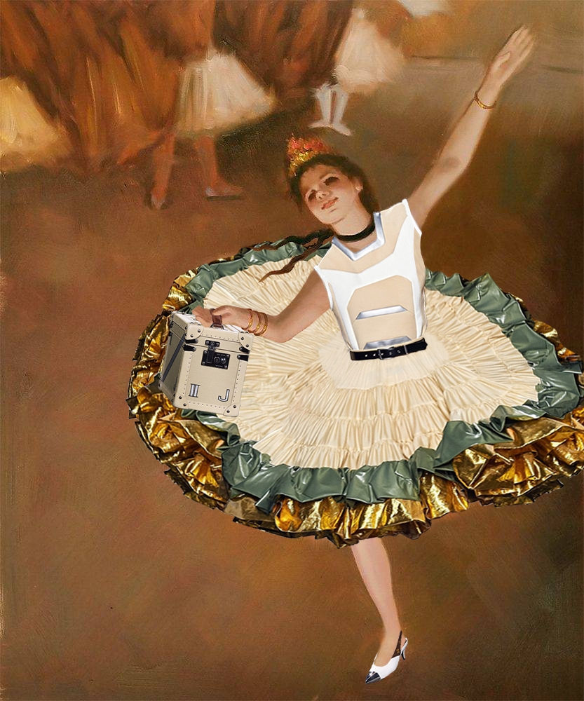 Edgar Degas, The Star (in Louis Vuitton), 1878