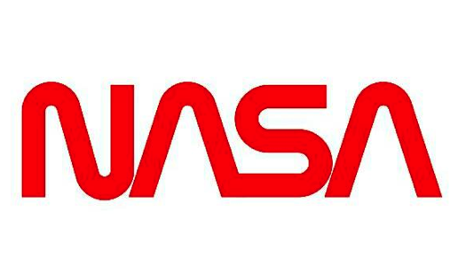"NASA, ""Worm"" logo, 1975"