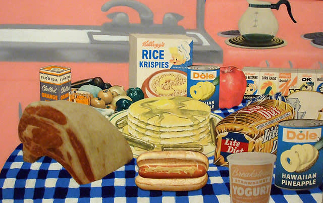 Tom Wesselmann , Still Life #30, 1963