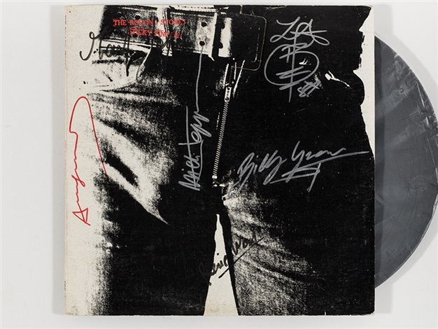 Rolling stones  sticky fingers lp cover   1971 1