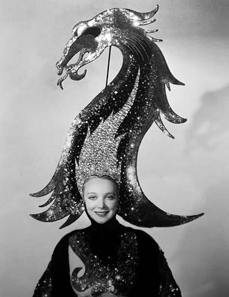 Gilbert adrian  costume for the great ziegfeld  1936