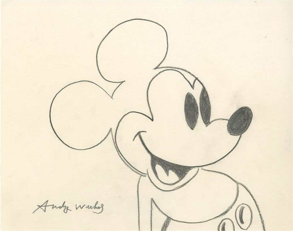 Andy Warhol , Mickey Mouse, 1981
