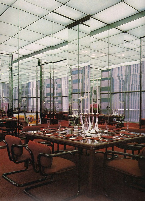 Halston   s office in olympic tower  1970s