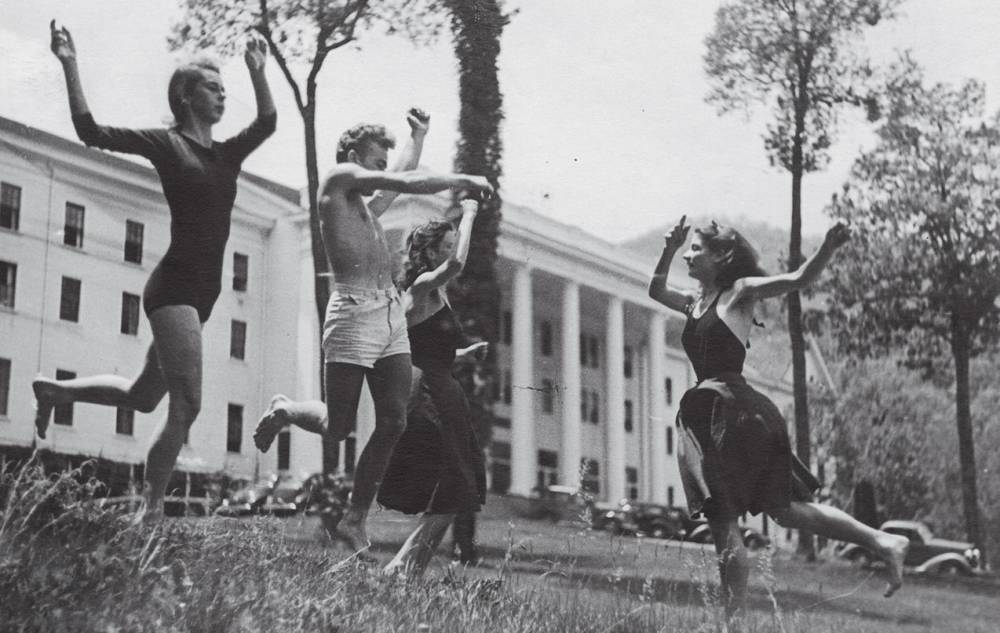 Black Mountain College , Students Dancing in Summertime, 1940s