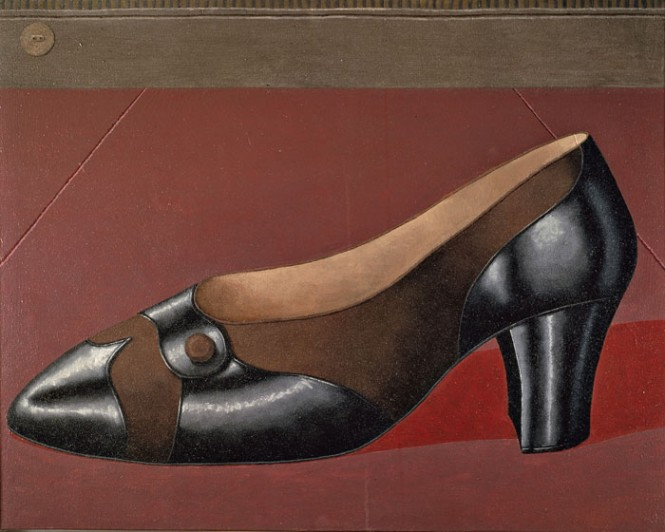 Domenico gnoli   shoe from the side   1966