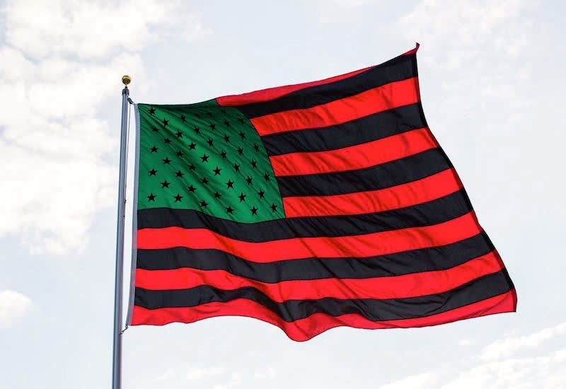 African american flag