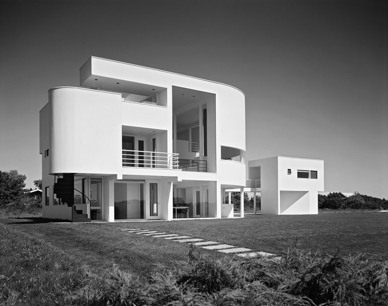 Richard meier  saltzman house  east hampton  new york  1969  photographed by ezra stoller