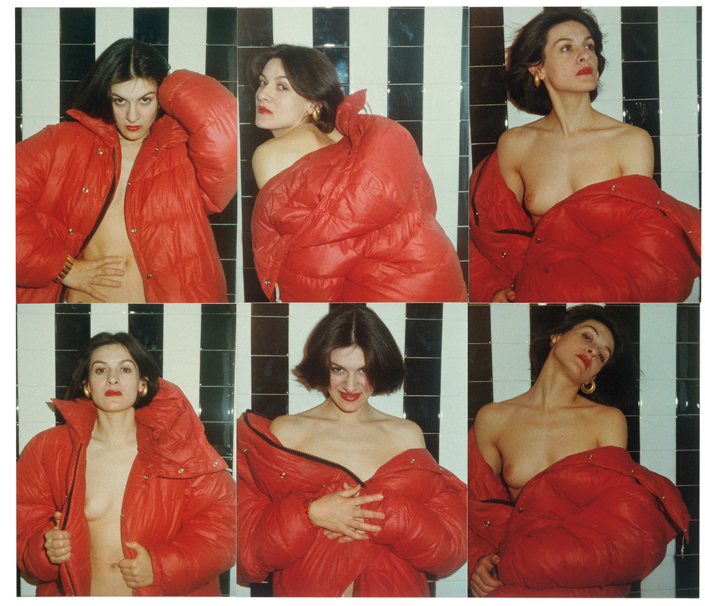 Antonio lopez  red coat series  paloma picasso  1970s