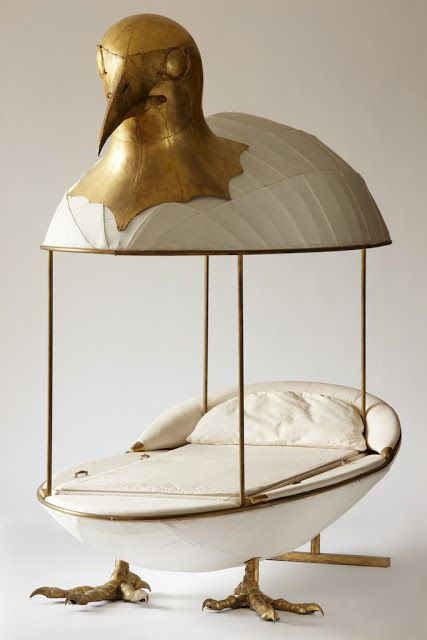 Francois xavier lalanne   claude lalanne  cocodoll bed  1964