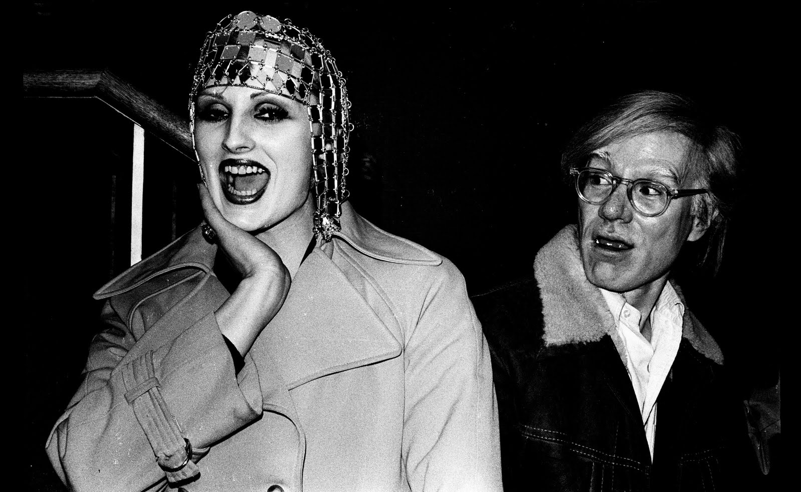 Andy warhol and candy darling  early 1970s