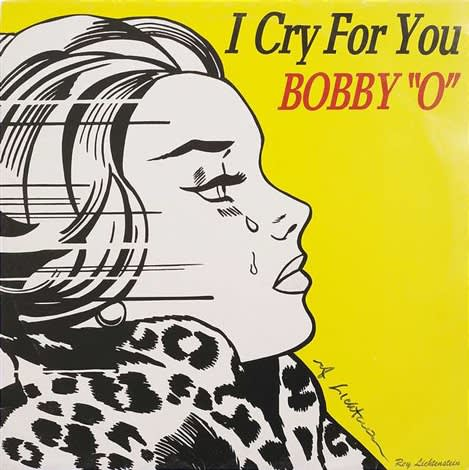Roy Lichtenstein , I Cry For You Bobby O, 1983