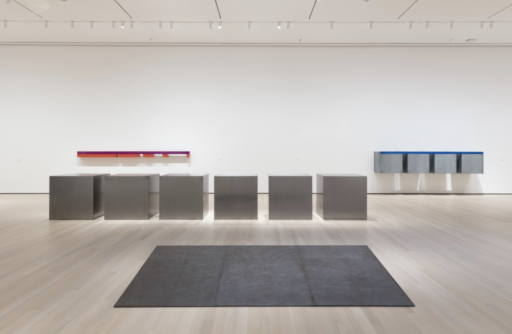 Judd at MoMA , Instillation View
