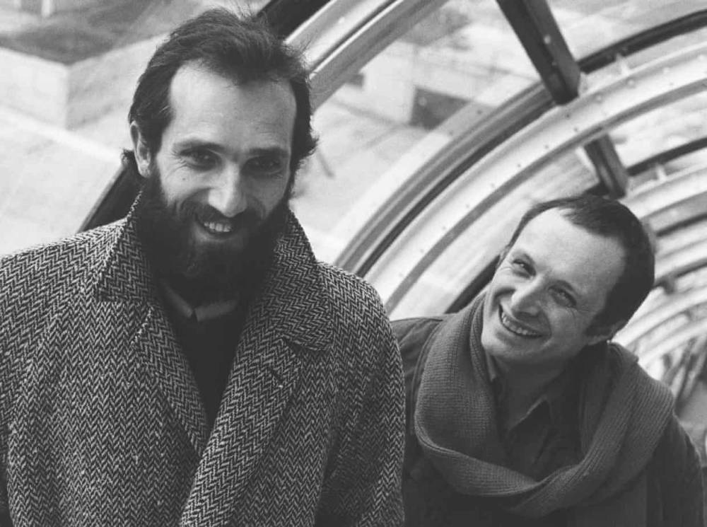 Portrait , Renzo Piano, left, and Richard Rogers, right, 1977