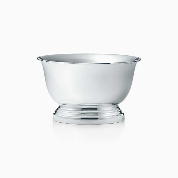 Tiffany & Co., Sterling Silver Dog Bowl