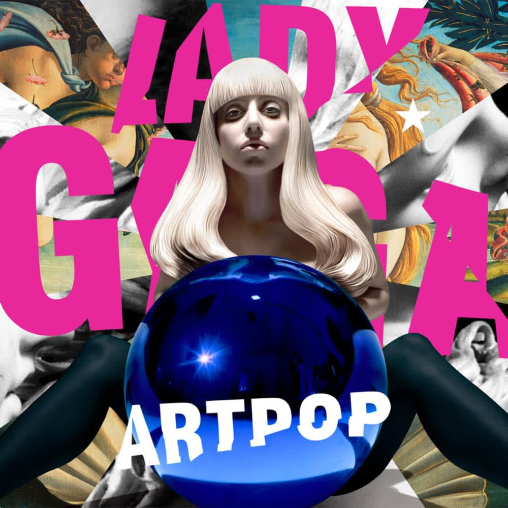 Jeff Koons , Lady Gaga, Art Pop, 2012