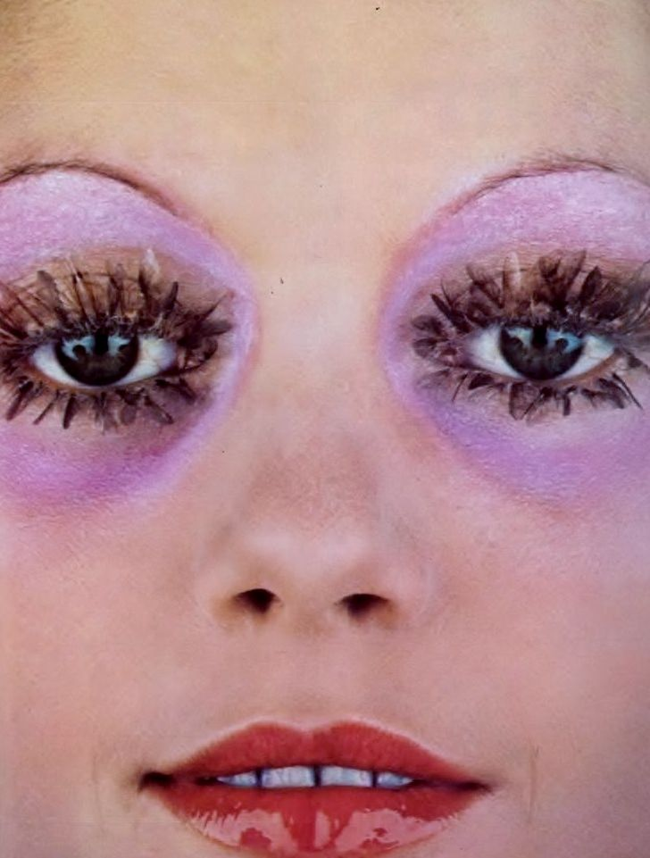 Guy bourdin  vogue paris  april 1970.