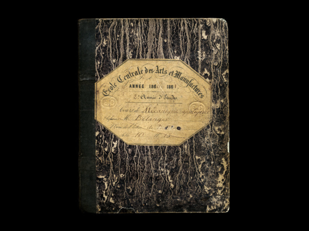 French , Composition Notebook, 1860