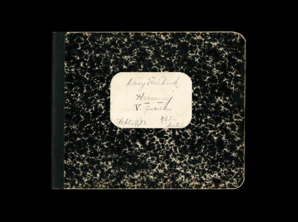 Composition Notebook, 1893