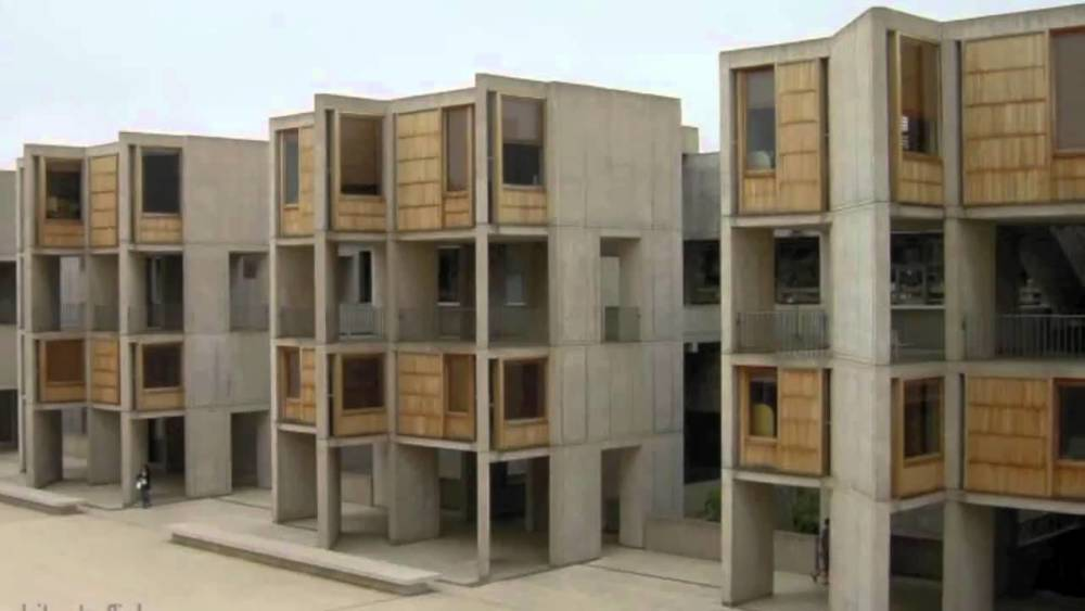 Salk institute in la jolla  california  louis kahn 1959 65