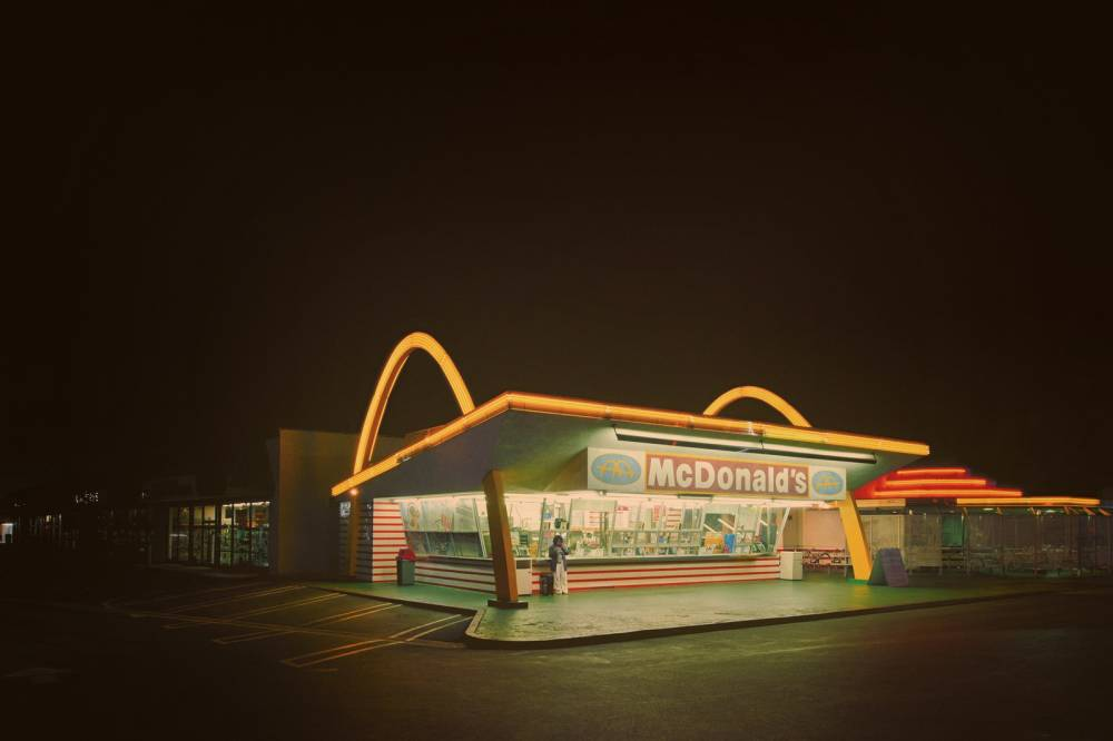 McDonald's, Downey, California, 1953