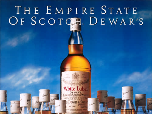 Jeff Koons, The Empire State of Scotch, Dewar's 1986