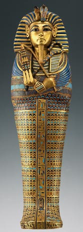 Coffin for tutankhamun s viscera