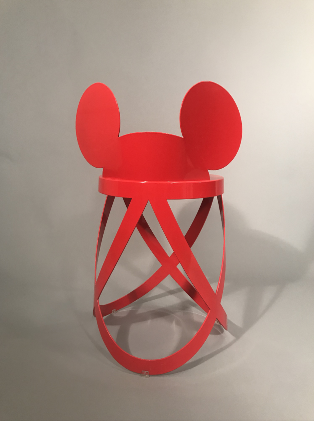 Cappellini and Walt Disney , Mickey Mouse Ribbon Stool