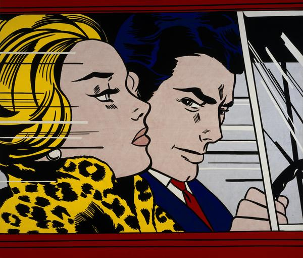 5  roy lichtenstein  in the car  1963