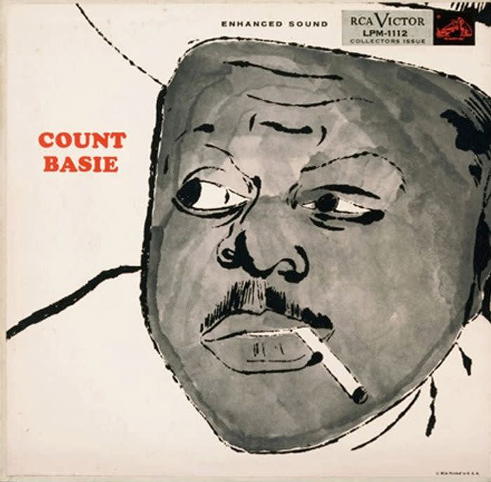 Andy Warhol, Count Basie, 1955